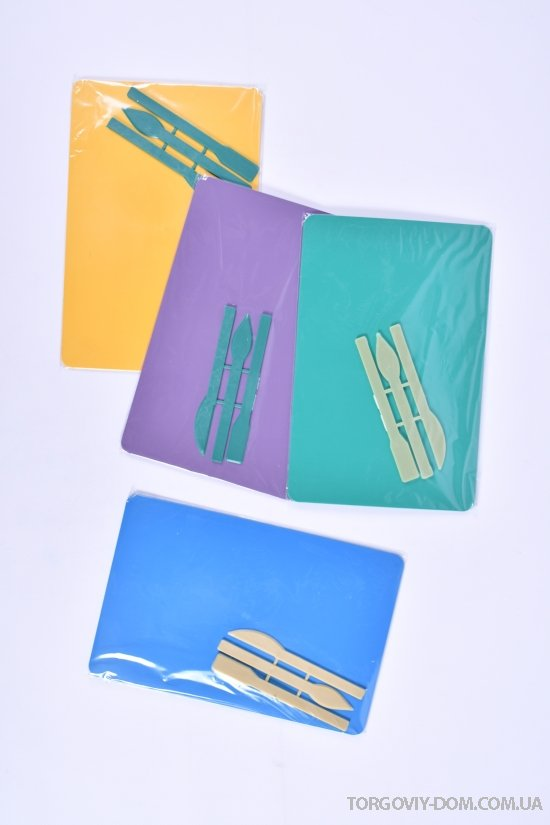 Доска для пластилина со стэками формат А5 размер 220/150 мм. арт.стек