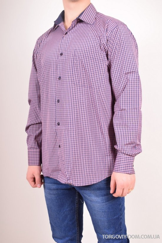 Рубашка мужская ENRIKO Размер ворота в наличии : 39,40,41,42,43,45,52,54 арт.SDK7122