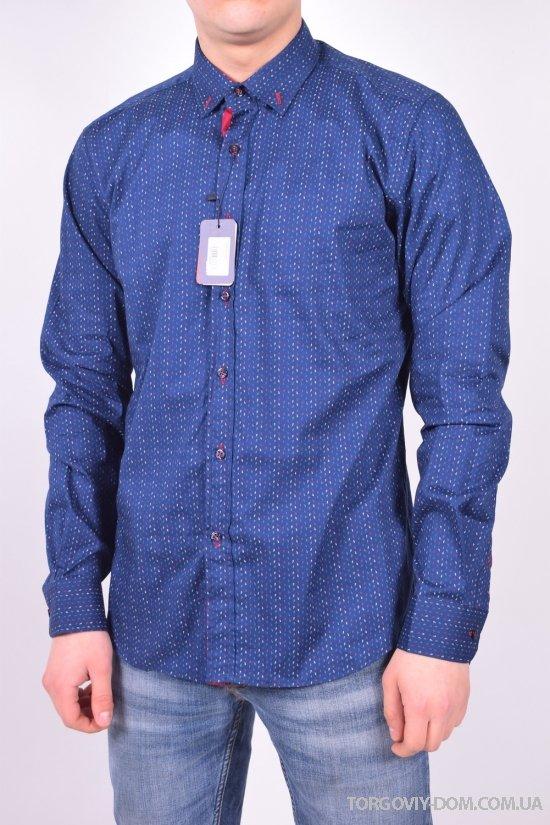 """Рубашка мужская """"Slim fit"""" BAZZOLO Размеры в наличии : 44,46,48,50,52,54 арт.SKY2362"""